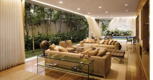 Emejing Amenager Un Grand Salon Contemporary - House Design ...